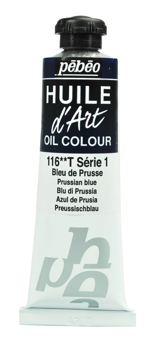 Pebeo Huile d'Art Yağlı Boya 37 ml 116 Prussian blue