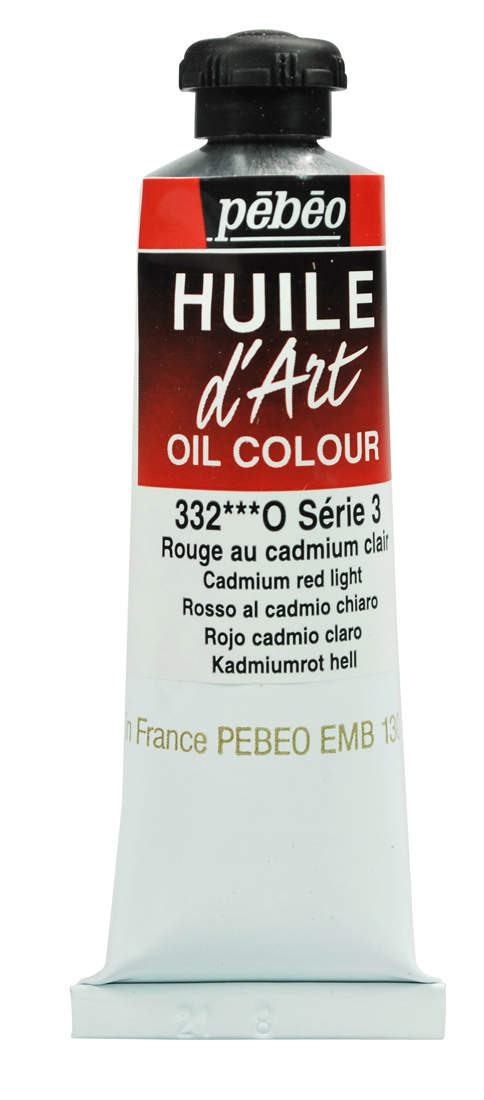 Pebeo Huile d'Art Yağlı Boya  37 ml 332 Cadmium Red Light