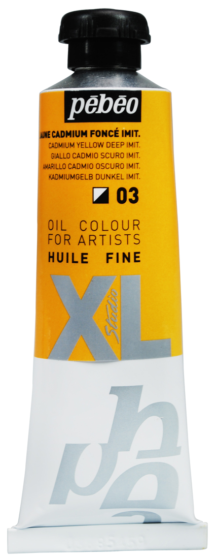 Pebeo Yağlı Boya  XL 37 ml  03 Cadmium yellow deep hue