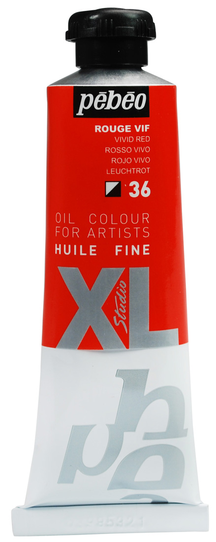 Pebeo Yağlı Boya  XL 37 ml  36 Vivid red