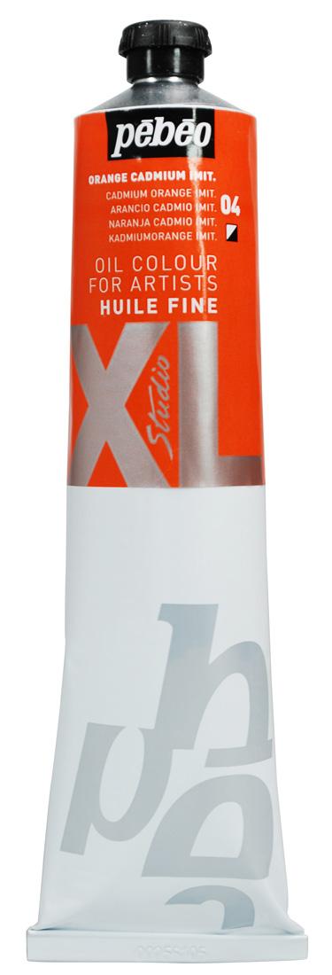 200 ML HUILE FINE XL YAĞLI BOYA Cadmium Orange 04