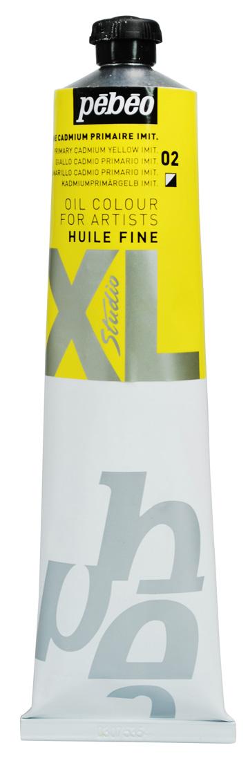 200 ML HUILE FINE XL YAĞLI BOYA Primary Cadmium Yellow 02