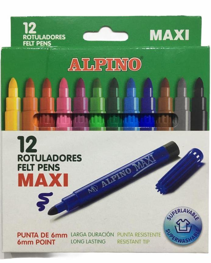ALPINO KEÇELİ KALEM 12 Lİ MAXI AR-06