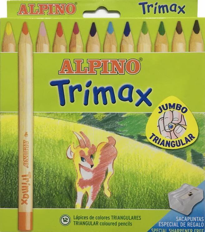 ALPINO KURUBOYA 12 Lİ TRIMAX JUMBO AL-113