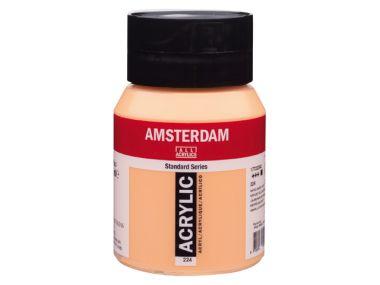 Amsterdam 500 ml Akrilik Boya 224 Naples yellow red