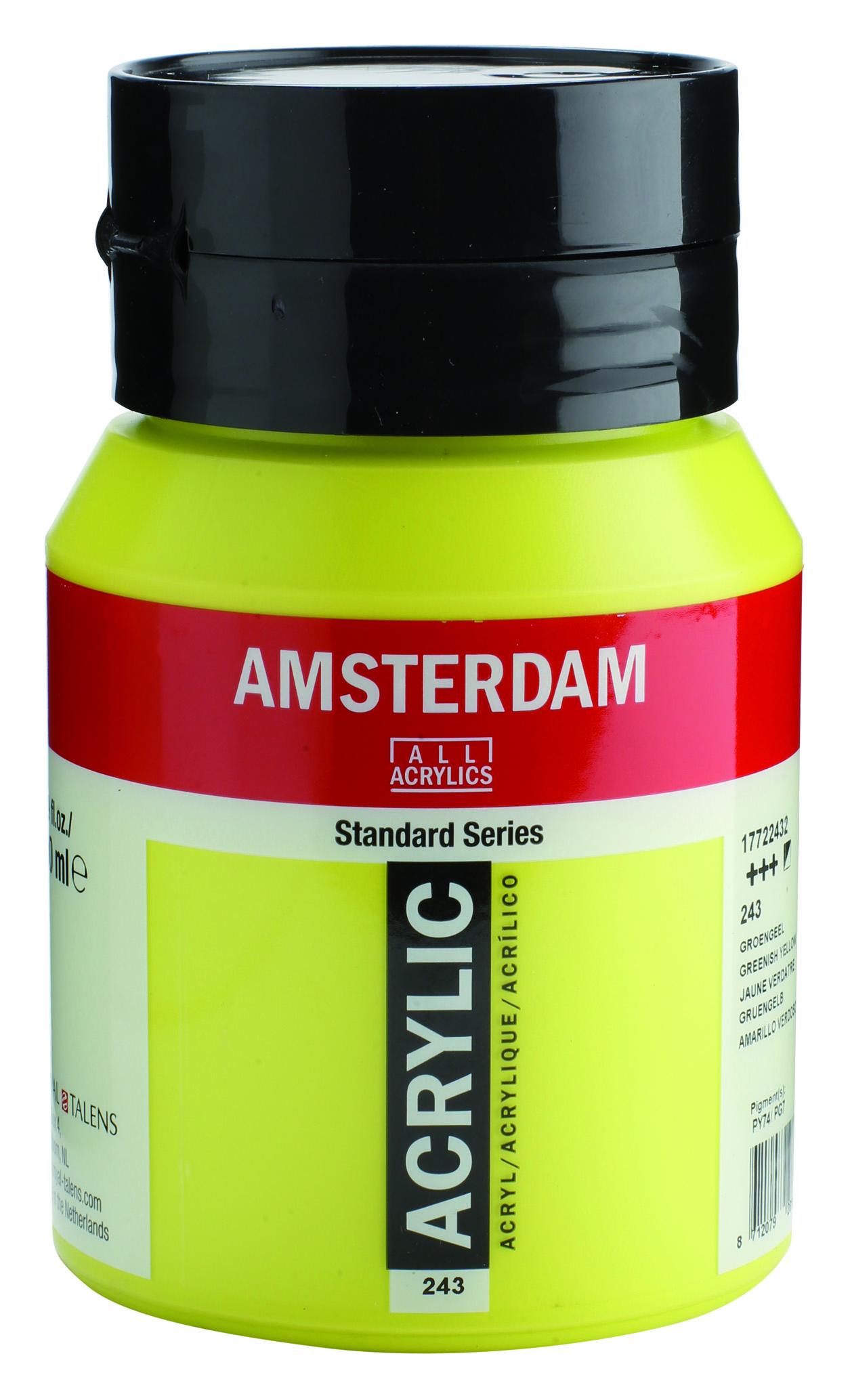 Amsterdam 500 ml Akrilik Boya 243 Greenish yellow