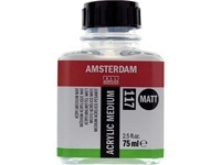 AMSTERDAM  ACRYLIC MEDIUM MATT 117 75ML