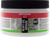 AMSTERDAM HEAVY GEL MEDIUM MATT 020 250ML