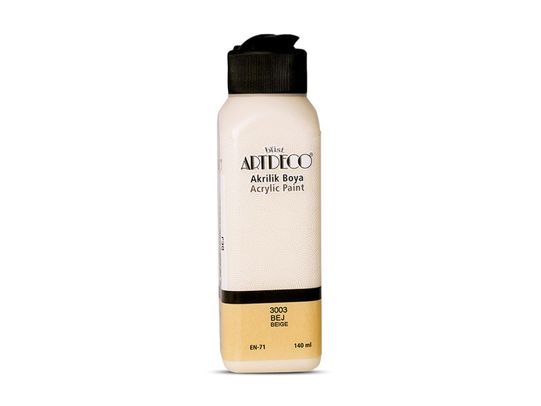 Art Deco 140 ML Akrilik Boya BEJ 3003