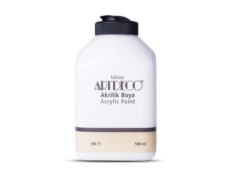 Artdeco Akrilik Boya 500ml Beyaz 3619