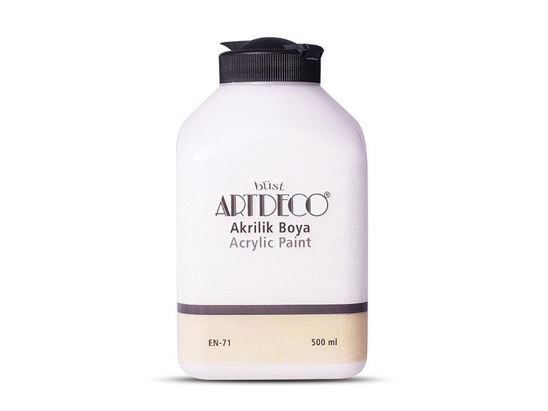 Artdeco Akrilik Boya 500ml Koton Beyaz 3008