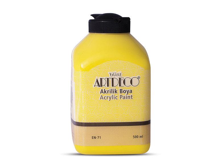 Artdeco Akrilik Boya 500ml Limon Sarı 3627