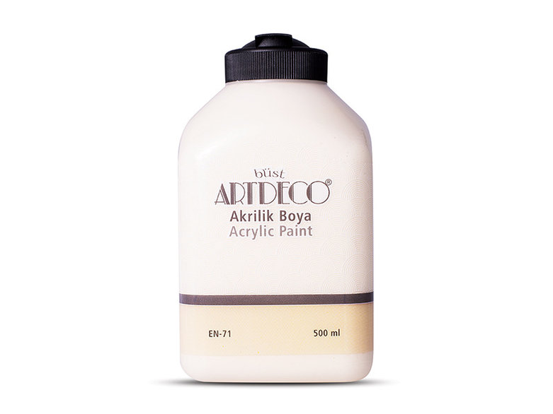 Artdeco Akrilik Boya 500ml Taffy 3001