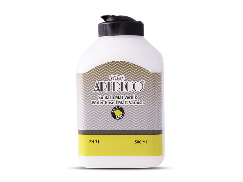 Artdeco Su Bazlı Mat Vernik 500 ml