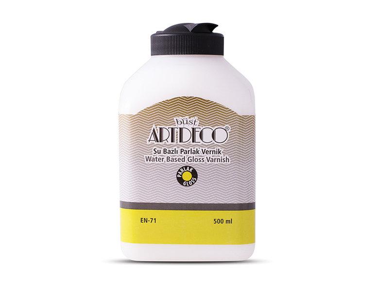 Artdeco Su Bazlı Parlak Vernik 500ml