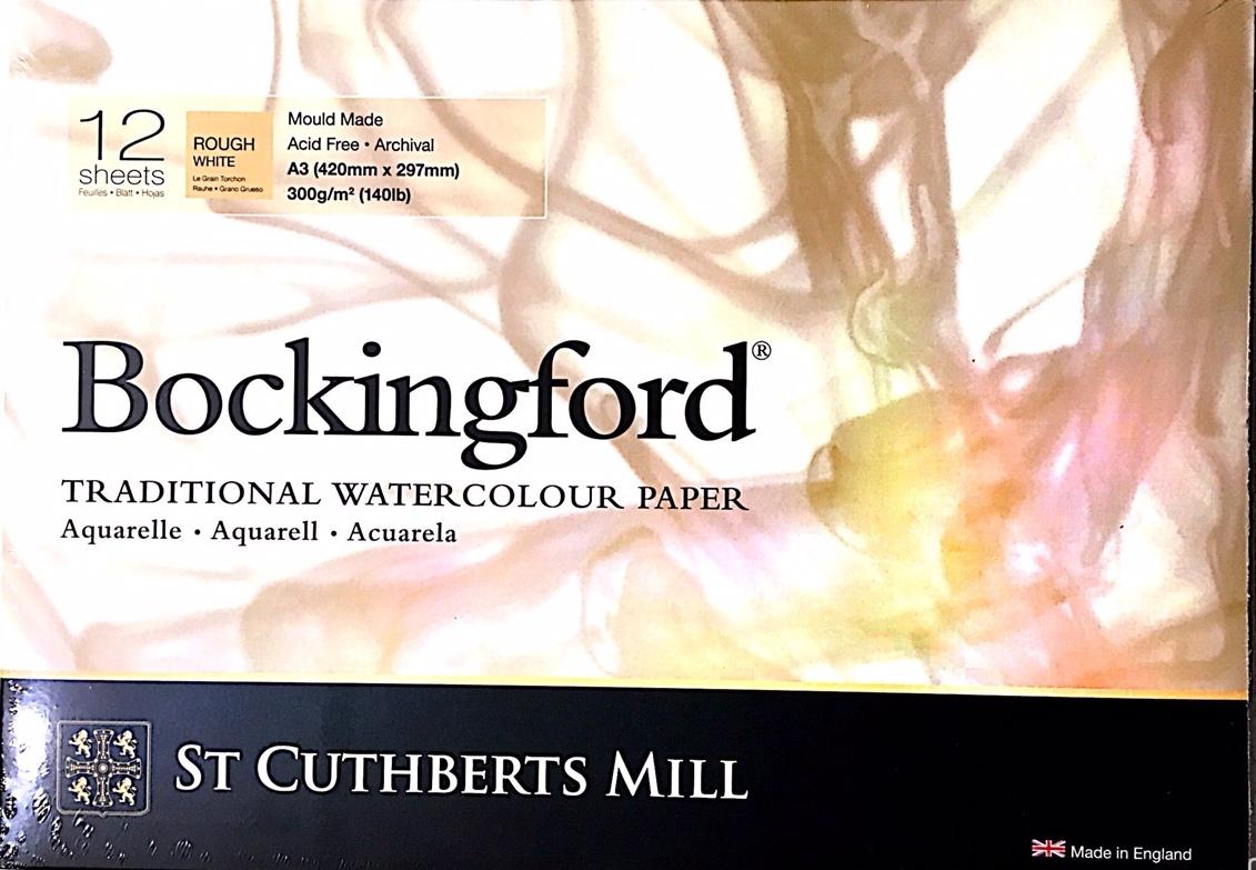 BOCKİNGFORD SULU BOYA DEFTERİ 300G ROUH A3 12 SAYFA