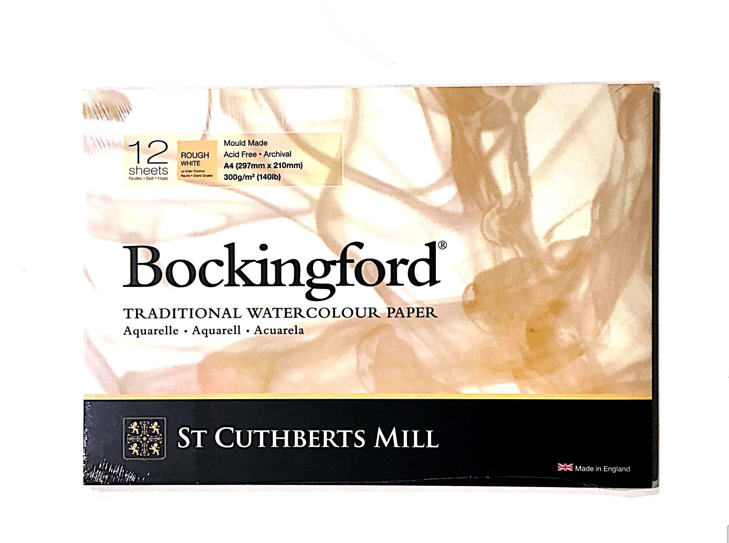 BOCKİNGFORD SULU BOYA DEFTERİ 300G ROUH  A4 12 SAYFA