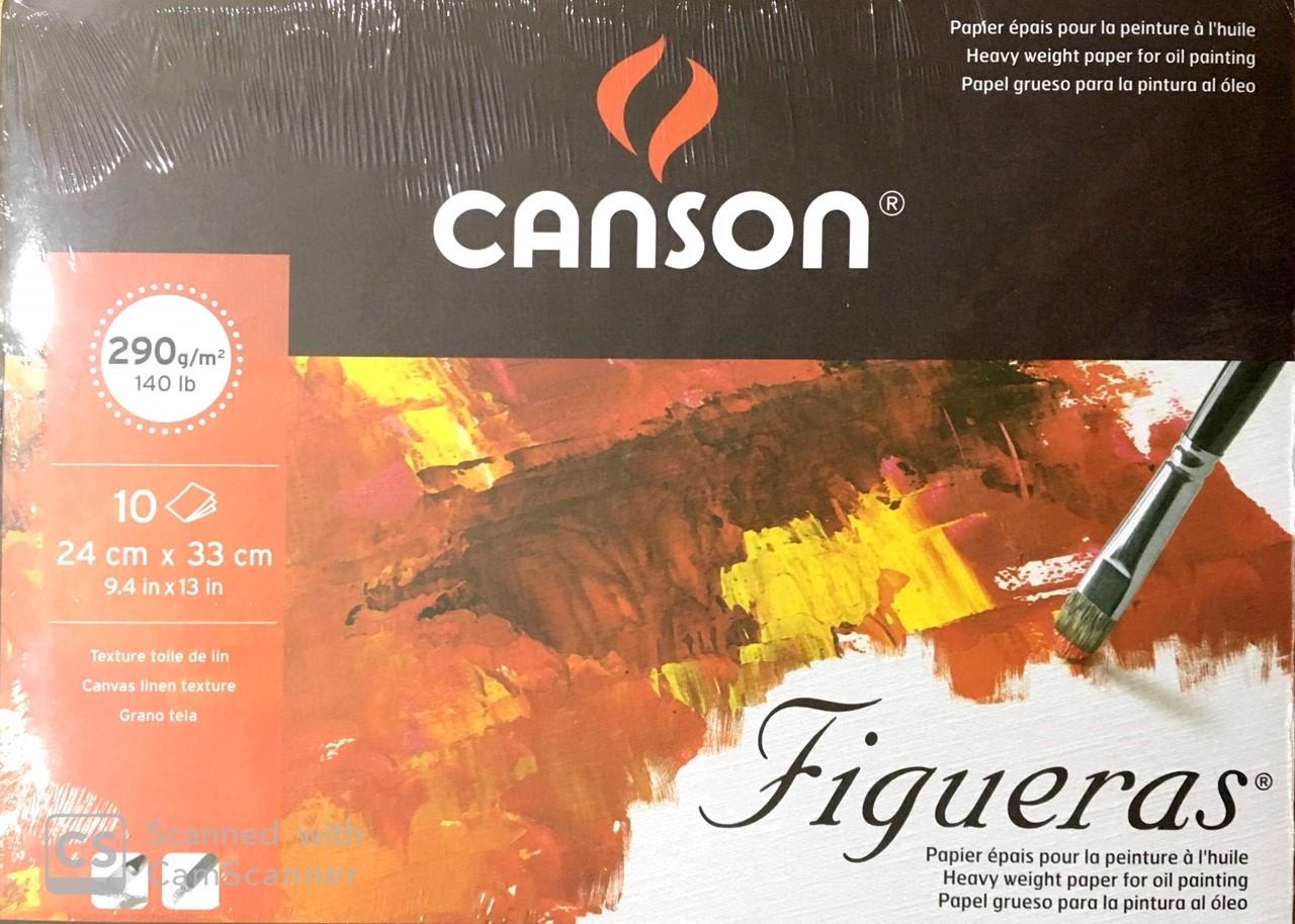 Canson Figueras  Yağlı Boya Defteri 10 Sayfa 24x33cm