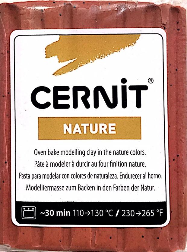 Cenir Nature Polimer Kil 56gr Sienna 972