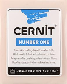 CERNİT NUMBER ONE POLİMER KİL 56GR   FLESH 425