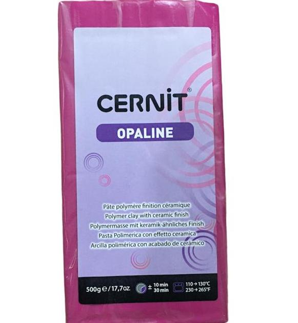 Cernit Opaline Polimer Kil 500gr Magenta 460