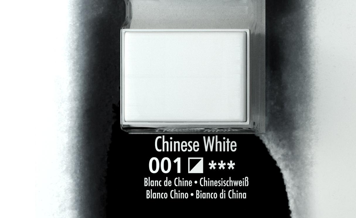 DALER ROWNEY AQUAFİNE SULU BOYA TABLET   CHINESE WHITE 001