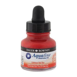 Daler Rowney Aquafine Sulu Boya Mürekkep 29.5Ml Cadmium Red