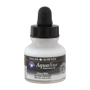 Daler Rowney Aquafine - Suluboya Mürekkep 29.5ml CHİNESE WHİTE