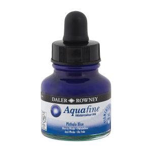 Daler Rowney Aquafine Sulu Boya Mürekkep 29.5Ml  Phthalo Blue