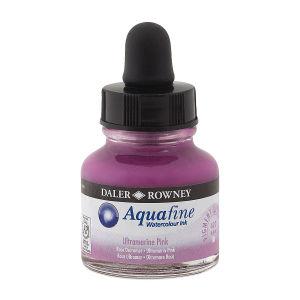 Daler Rowney Aquafine Sulu Boya Mürekkep 29.5Ml Ultramarine Pink