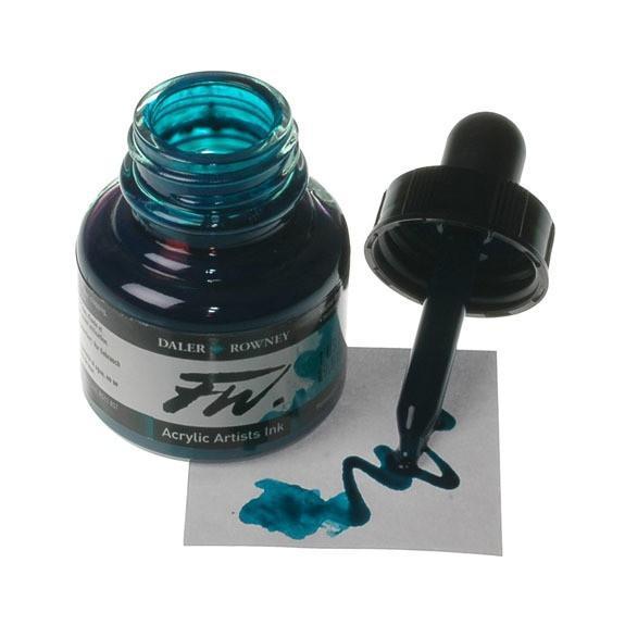 Daler Rowney FW Ink 29.5ML Akrilik Mürekkep Marine Blue
