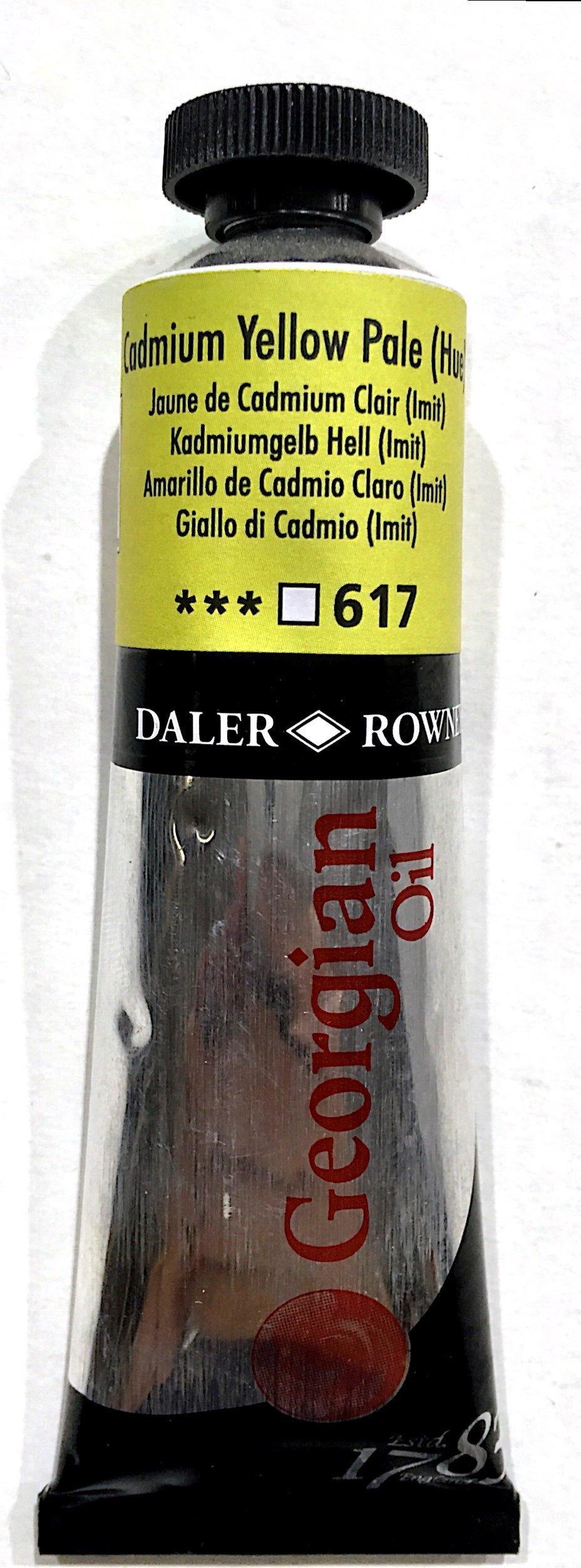 Daler Rowney Georgian  Yağlı Boya 38ml  Cadmium Yellow Pale 617