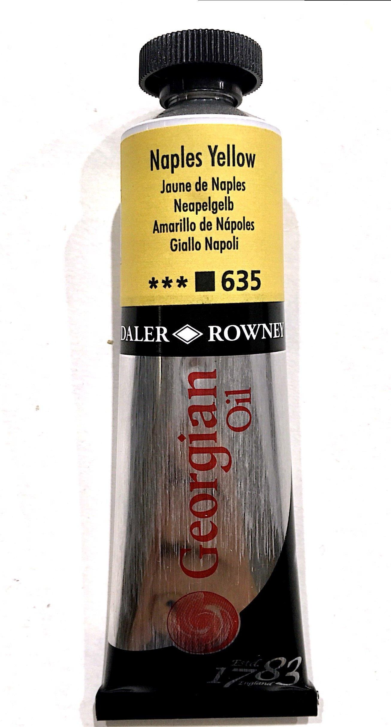 Daler Rowney Georgian  Yağlı Boya 38ml Naples Yellow 635