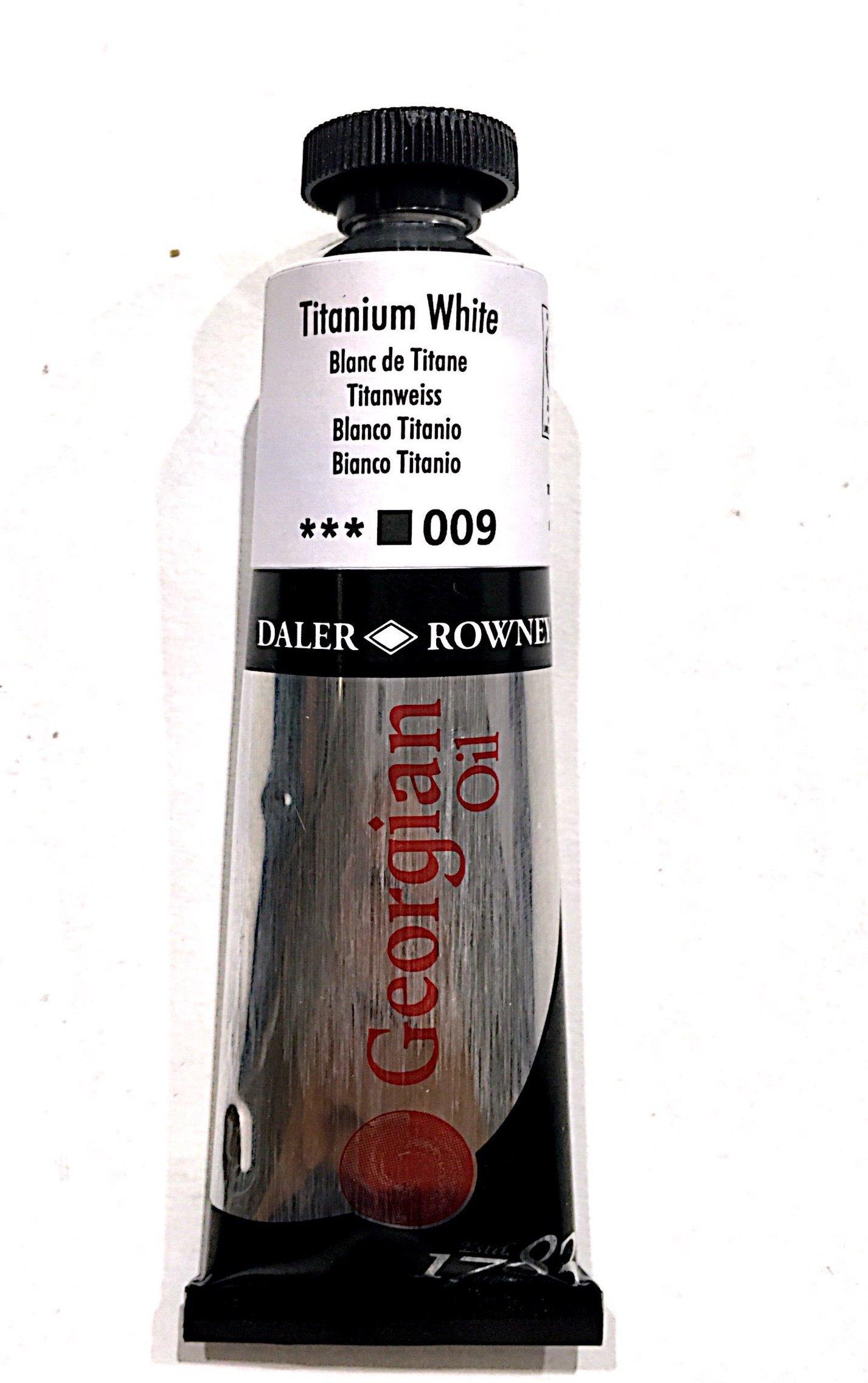 Daler Rowney Georgian  Yağlı Boya 38ml  Titanium White 009