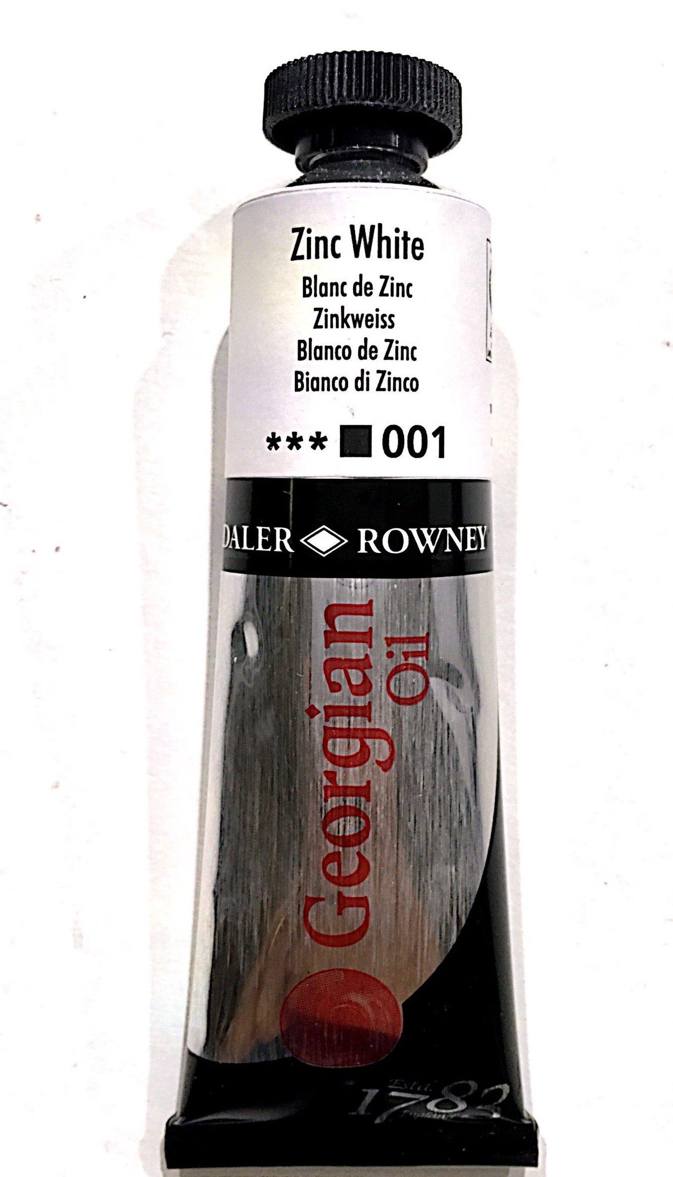 Daler Rowney Georgian  Yağlı Boya 38ml  Zinc White 001