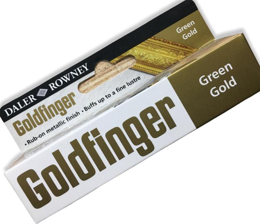 DALER ROWNEY GOLDFİNGER PARMAK YALDIZ GREEN GOLD 22ML