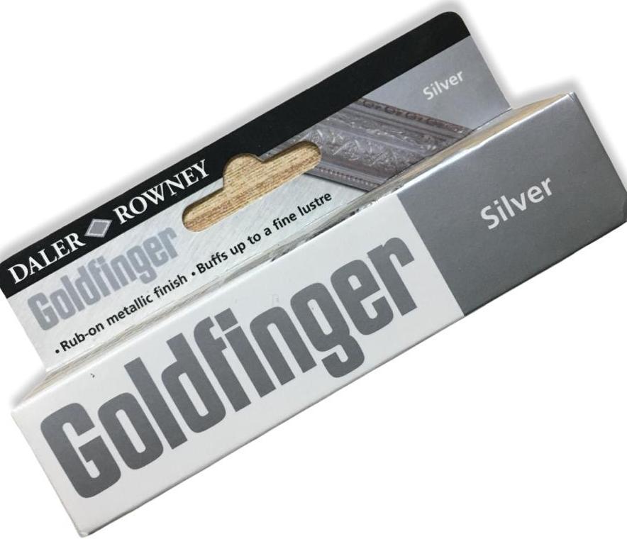 Daler Rowney Goldfinger Parmak Yaldız Silver  22 ml