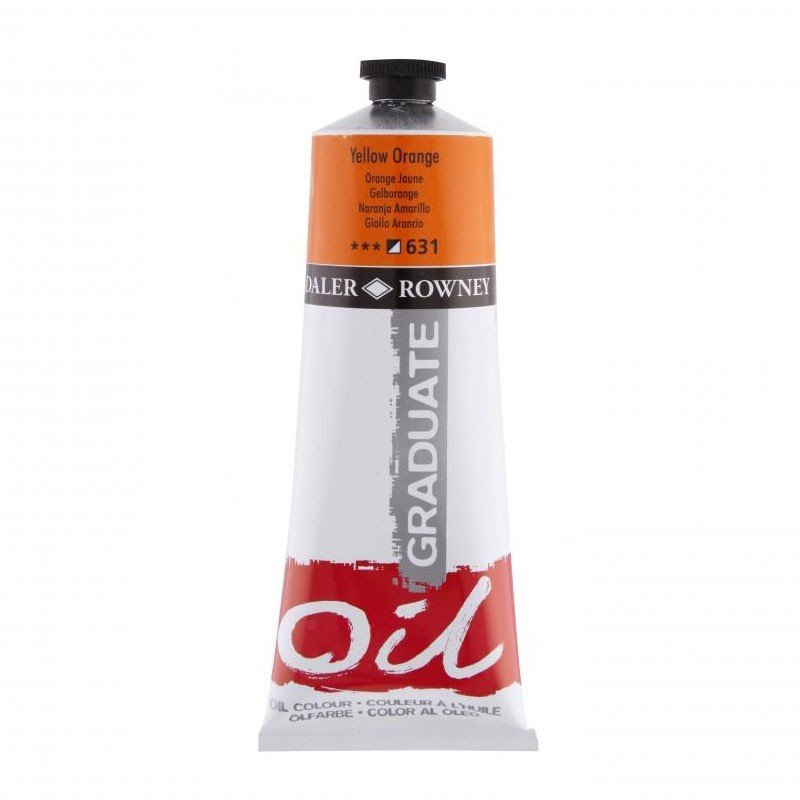 Daler Rowney Graduate Yağlı Boya 200ml YELLOW ORANGE 631