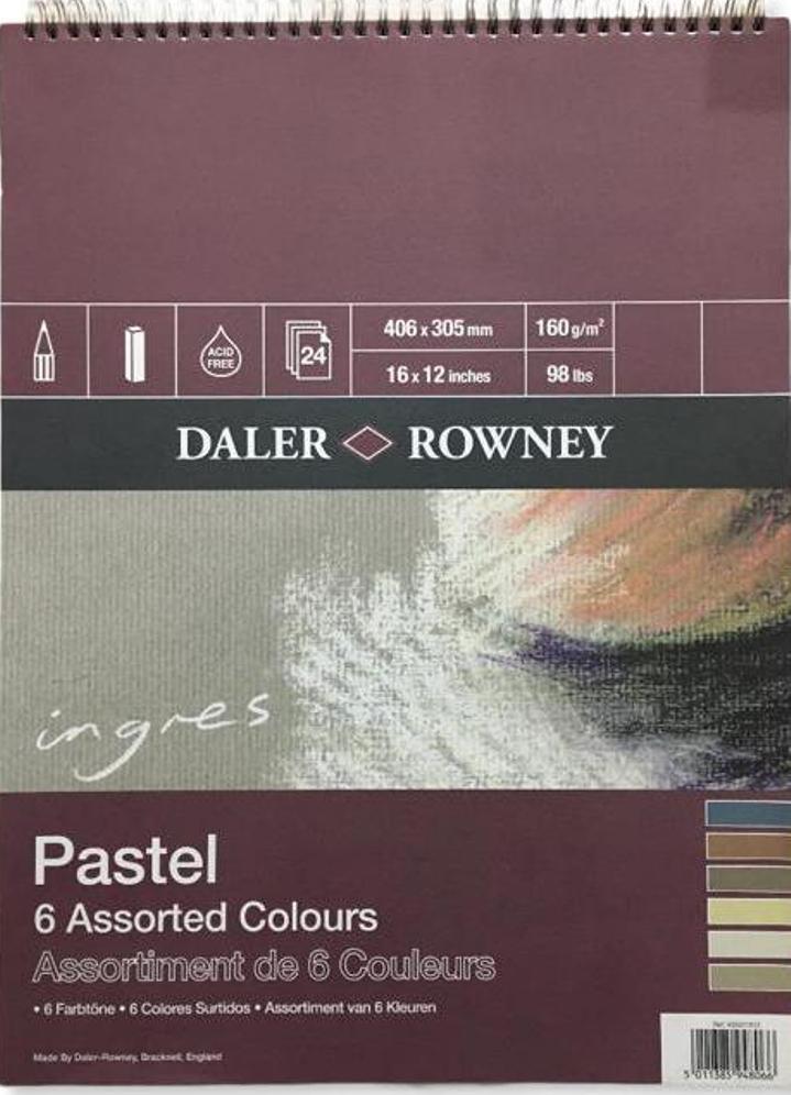 Daler Rowney Ingres Pastel Defteri  40X60 160GR 24 Sayfa