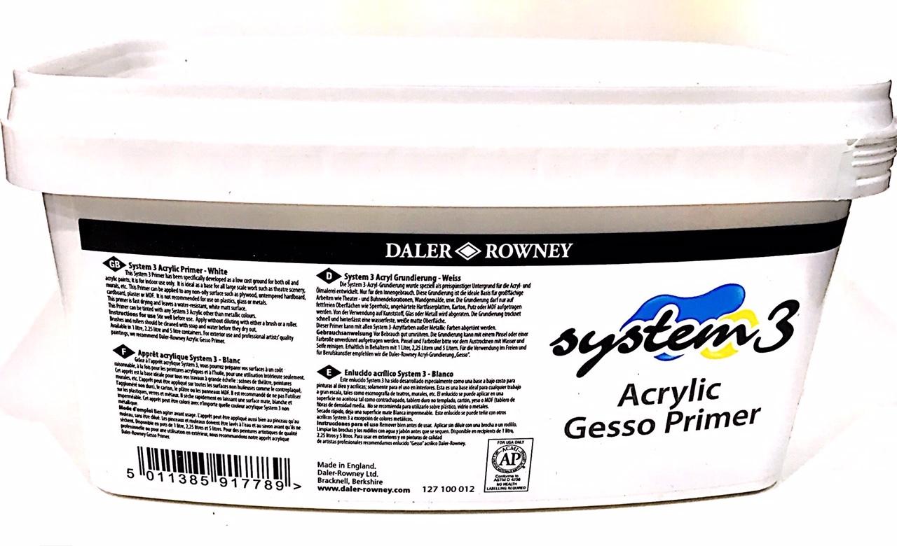 DALER ROWNEY SYSTEM3 AKRİLİK GESSO PRİMER