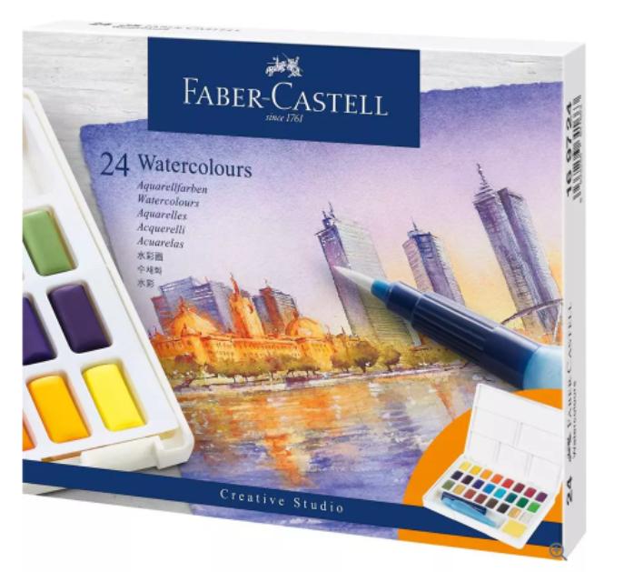 Faber-Castell Creative Studio Sulu Boya Seti 24'lü
