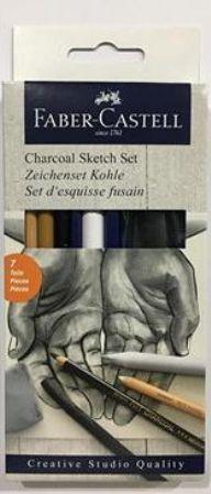 Faber Castell Klasik Sketch Seti 6 parça 114002