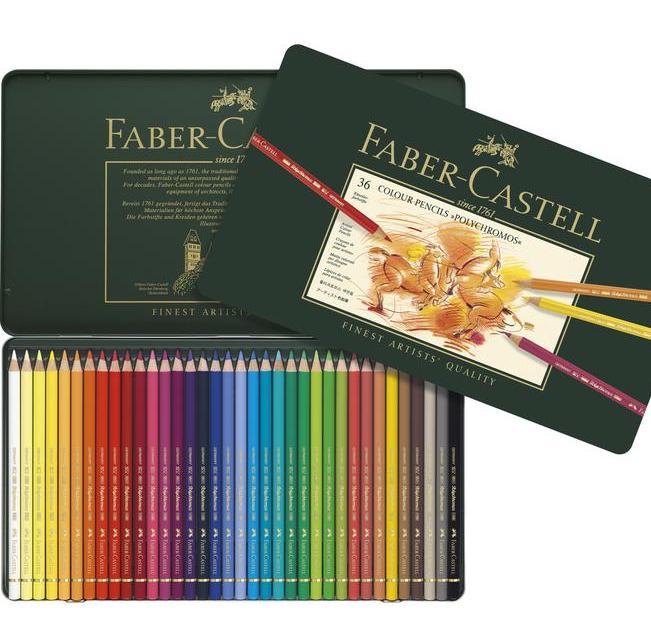 Faber Castell Polychromos Boya Kalemi 36 Renk 11 00 36