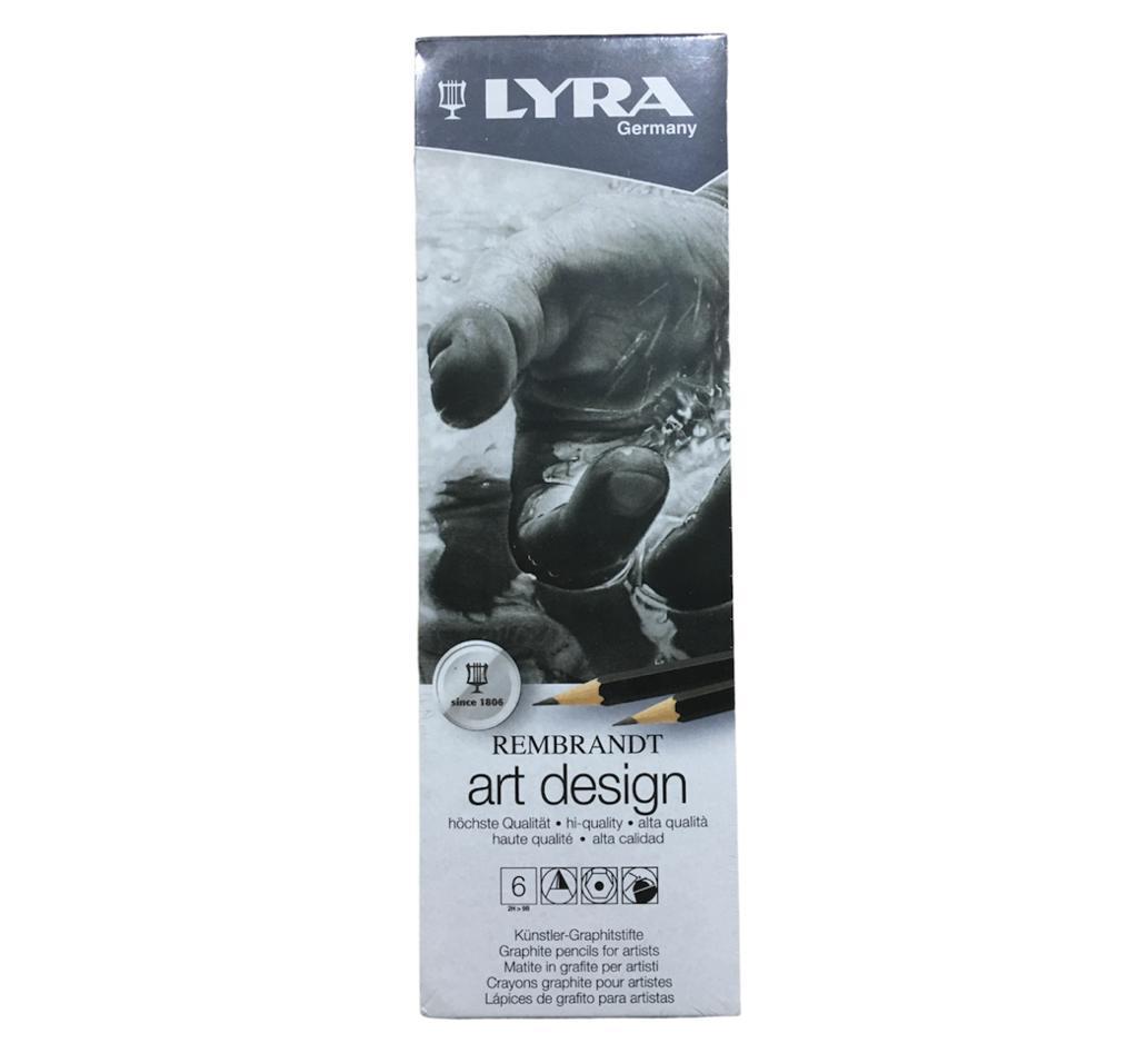 LYRA REMBRANDT ART DESİNG 6lı DERECELİ KALEM SETİ L1111062