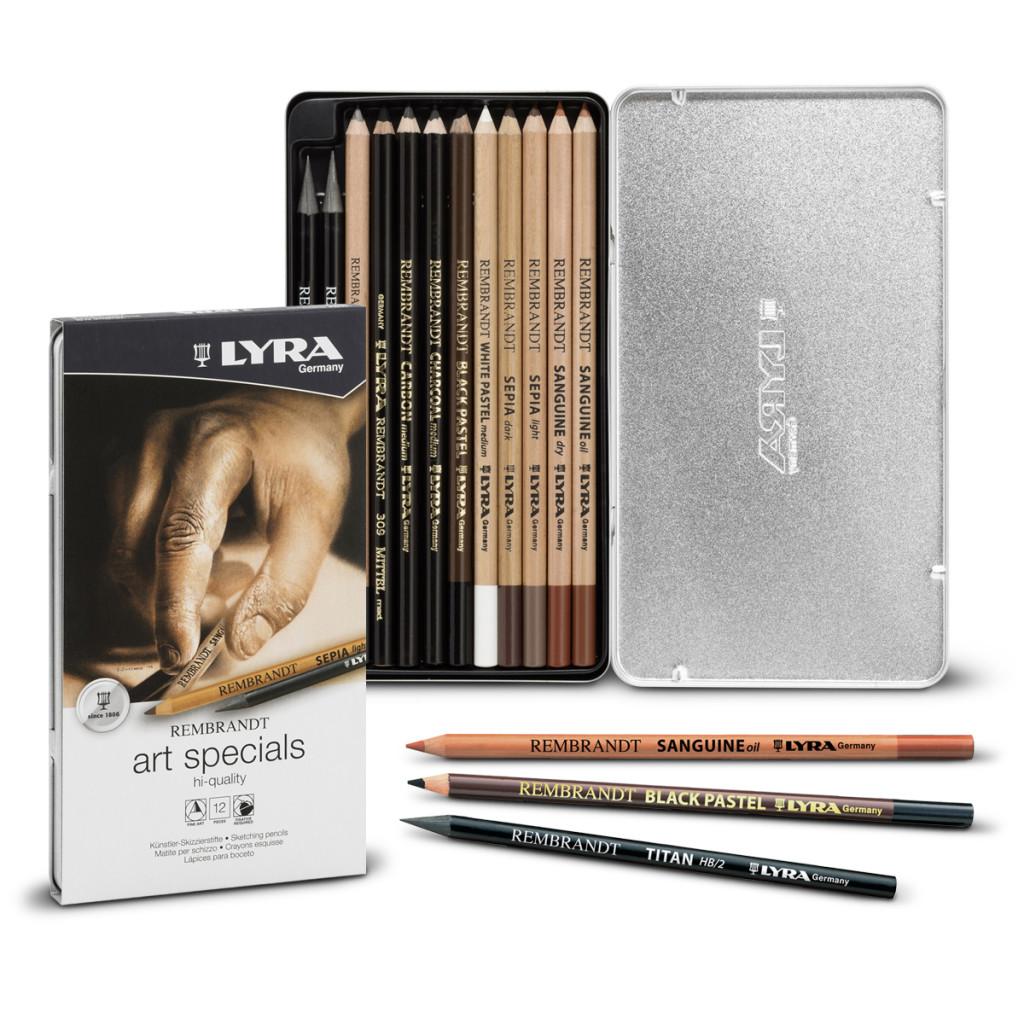 Lyra Rembrandt  Art Specials Set Box  12li L2051120