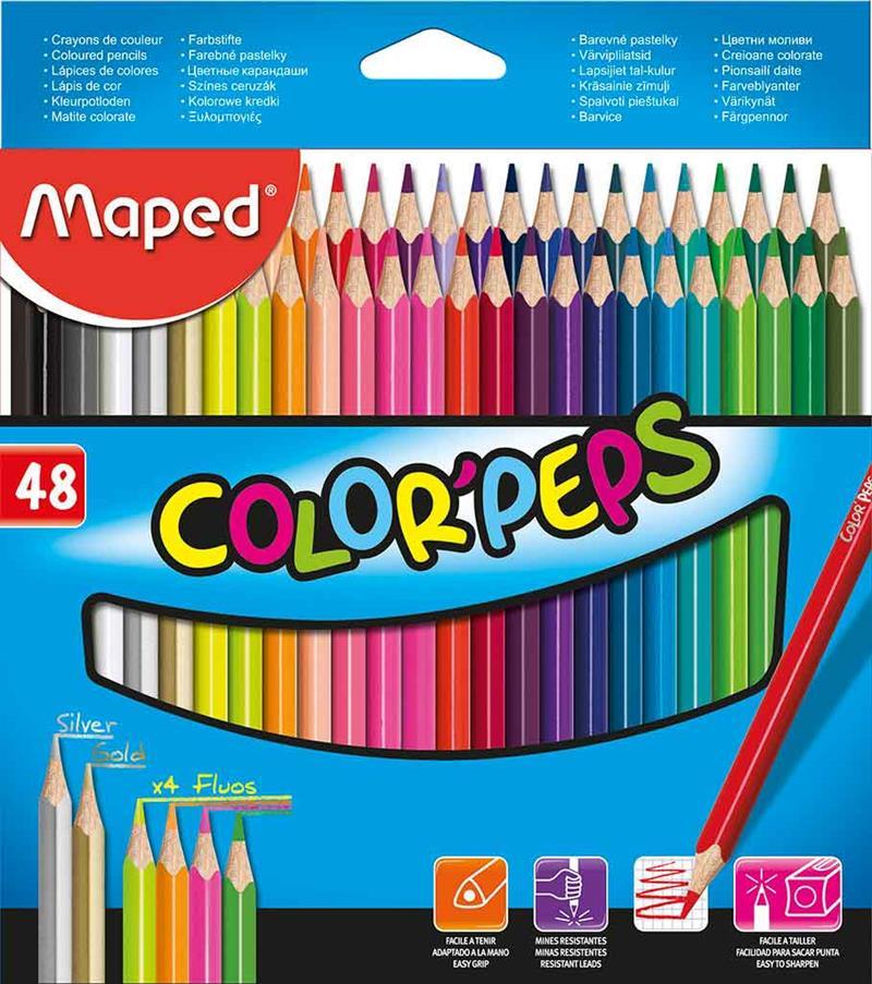 MAPED KURUBOYA COLOR PEPS 48 RENK 832048ZV