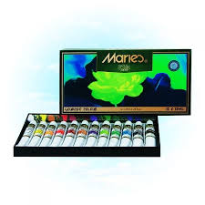MARİES 12 X 12 ML  GUAJ  BOYA 12 Lİ