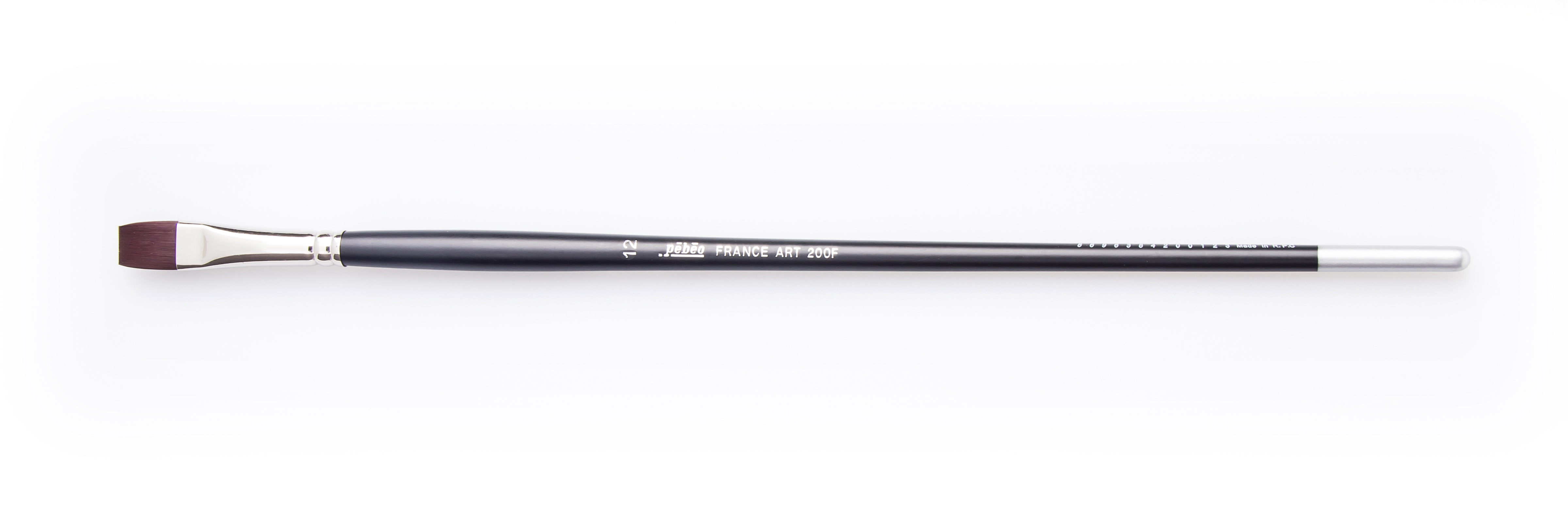 Pebeo Fırça Sentetik Kıl 200F no:12 (Yağlı ve Akrilik Boya Fırçası)