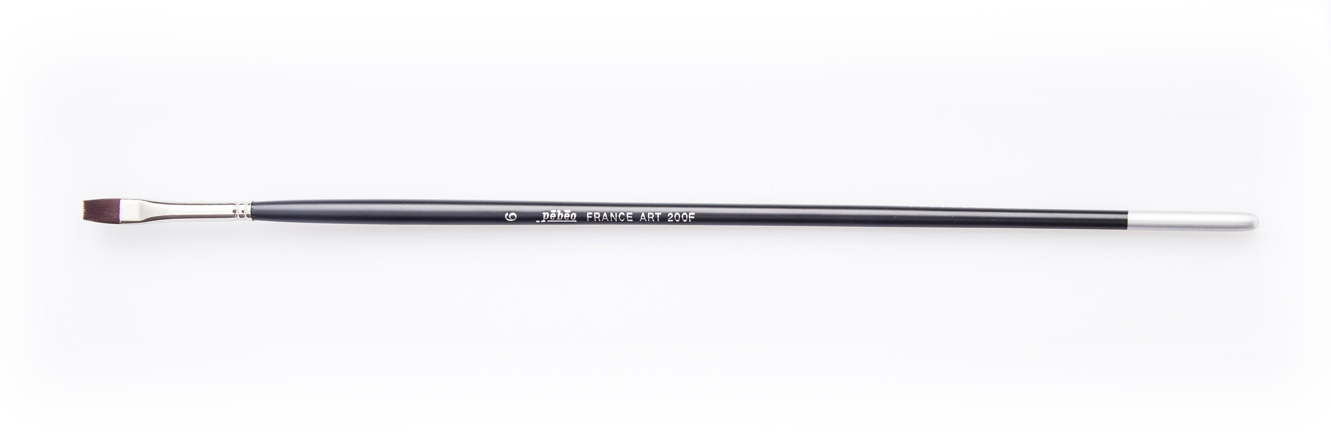 Pebeo Fırça Sentetik Kıl 200F no: 6 (Yağlı ve Akrilik Boya Fırçası)