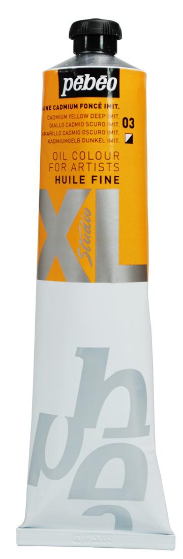 PEBEO 200 ML HUILE FINE XL YAĞLI BOYA Cadmium Yellow Deep 03
